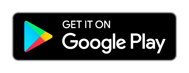 Get it on Google Play image - black background the play store logo on